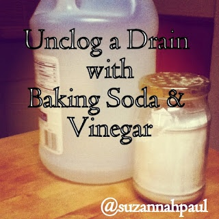 Natural Alternative To Drano Homemade Cleaning Unclog