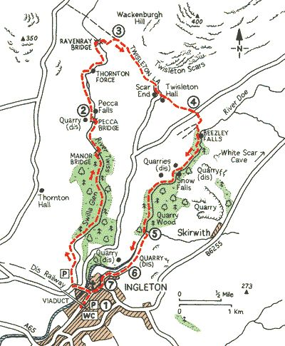 Ingleton waterfalls trail - 9 to see on this 4 mile route