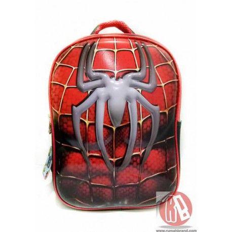 Ransel Spiderman (KC-7) @Rp. 165.000,-   http://rumahbrand.com/kostum-anak/1418-ransel-spiderman.html