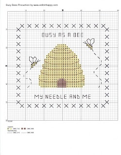 Busy Bees Pincushion