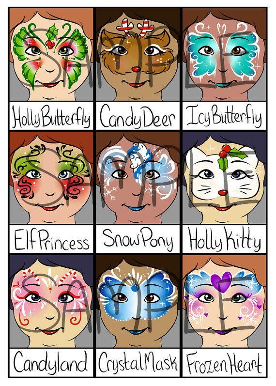 Gesicht-Malerei Menü Weihnachten voller von PatchesTheClown