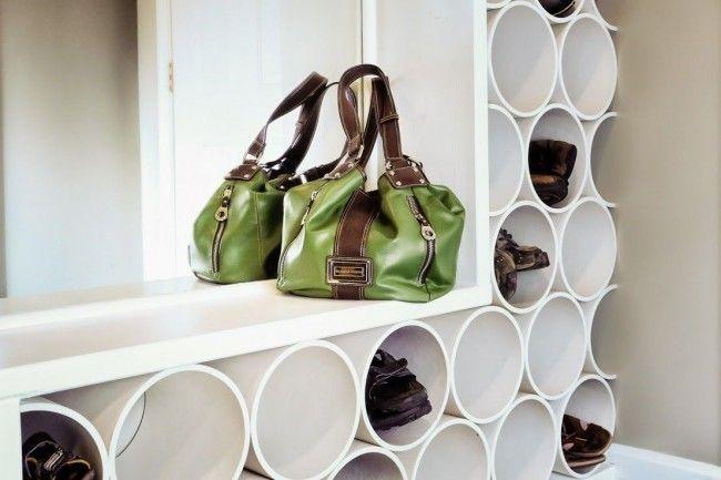 HappyModern.RU | 55 идей как хранить обувь в доме: полки, подставки, шкафы | http://happymodern.ru