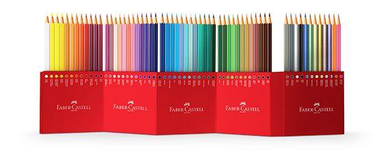 Faber-Castell lança estojos exclusivos de EcoLápis de cor de 60 e 18 cores