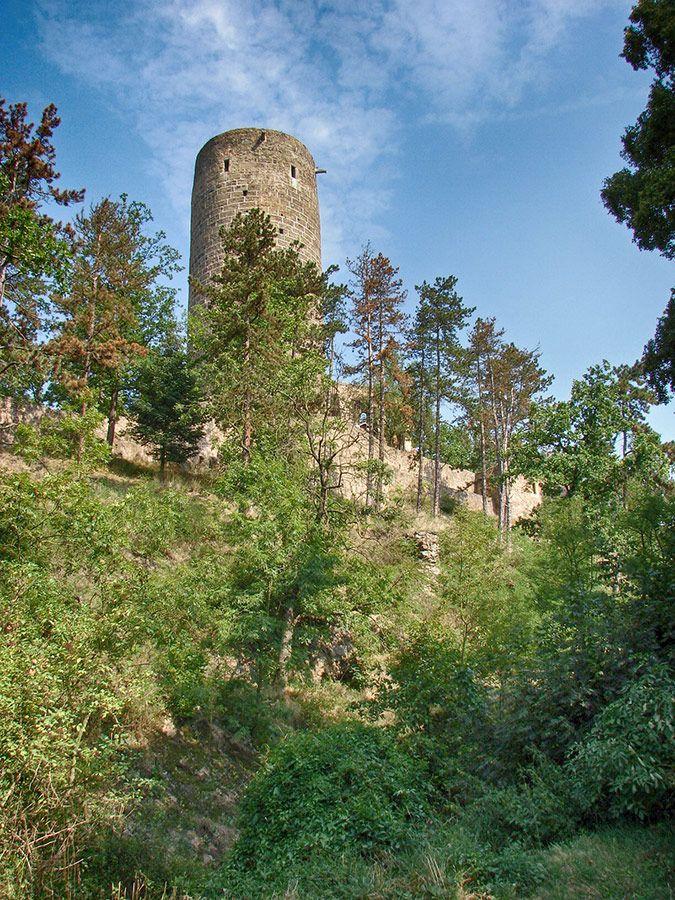 hrad / castle Žebrák