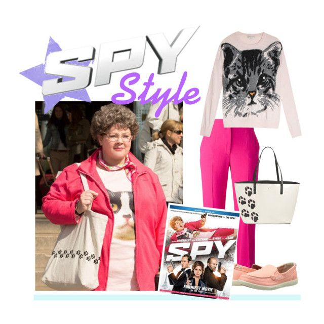 """""""Get the Spy Look: Melissa McCarthy as Susan Cooper"""" by polyvore-editorial ❤ liked on Polyvore featuring Alexander McQueen, Crocs, Paul & Joe Sister, Kate Spade and SpyMovie"""