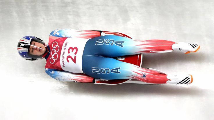 American luger Emily Sweeney, of Suffield, Connecticut, is stiff, sore and has a severely sprained left ankle after a horrific crash during her final run of the singles competition of the 2018 Winter Olympics Tuesday, but she is otherwise OK.