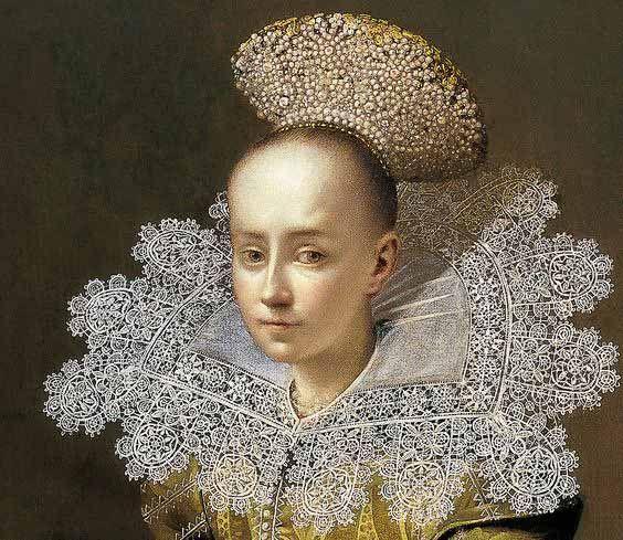Dentelle, période festive - ©Ecole de l'Europe Centrale - 1625-1635