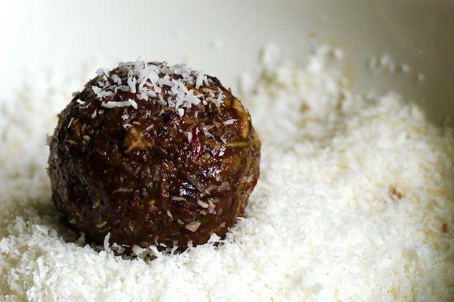 Coconut Bliss ball