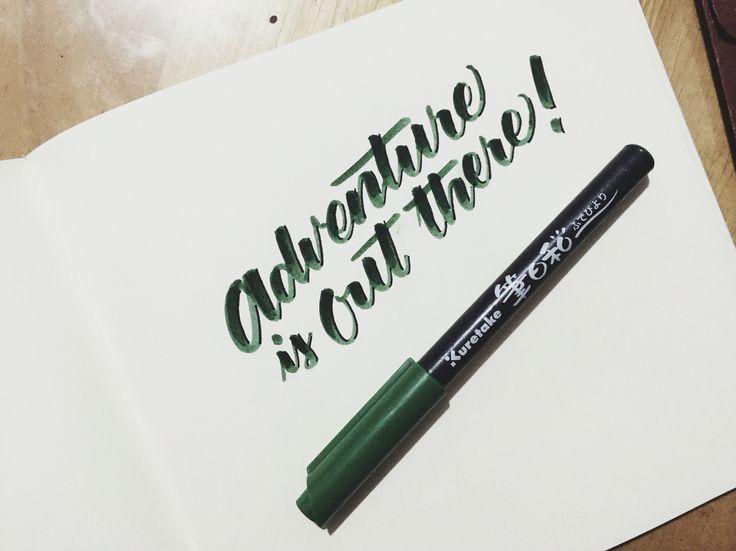 25 Best Ideas About Kuretake Brush Pen On Pinterest Art