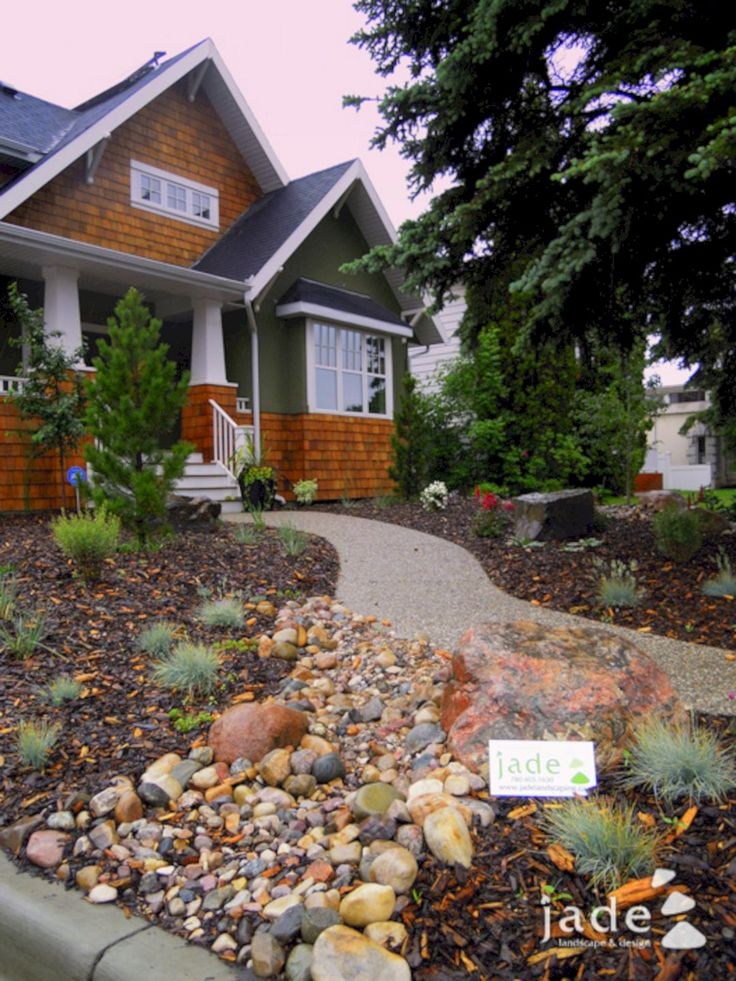 23 Simple And Beautiful Apartment Decorating Ideas: Best 23 Simple And Beautiful Front Yard Landscaping On A