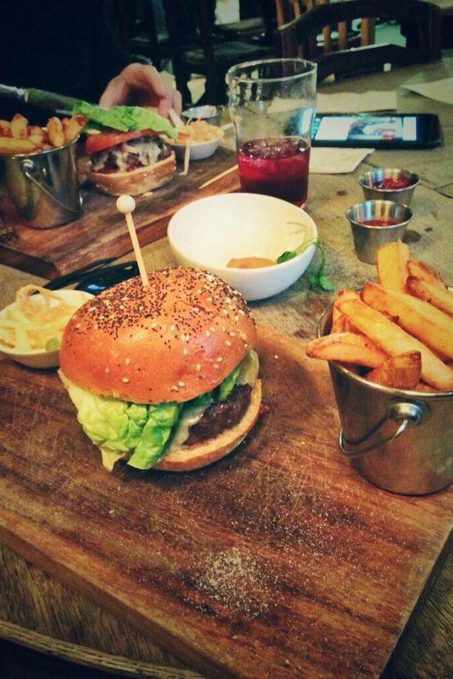 The Dove, pub food
