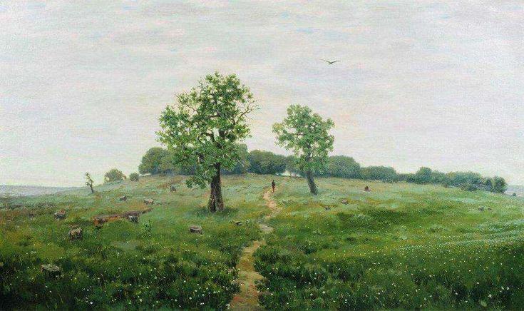 Серый день (Серенький денек). 1883 - Васнецов Аполлинарий Михайлович