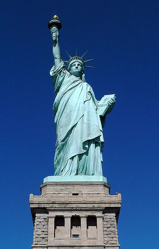 22. Liberty Enlightening the World of Liberty Island, New York, United States Height : 46 m