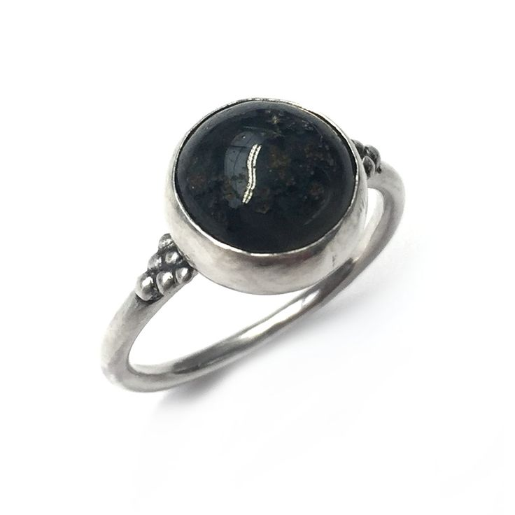 A one-off dark grey Moss Agate (10mm) set within a simplistic sterling silver bezel onto a round band. SIZE P ONLY! LAST CHANCE SALOON NOTES * Items are non returnable, unless deemed faulty by BMM * Rings are only available … Continue reading →