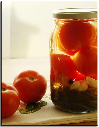 Два моих любимых рецепта консервированных помидоров 1