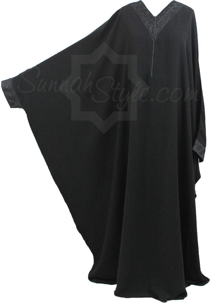 Black Onyx Bisht Abaya by Sunnah Style #SunnahStyle #Islamicclothing #abayastyle #bisht