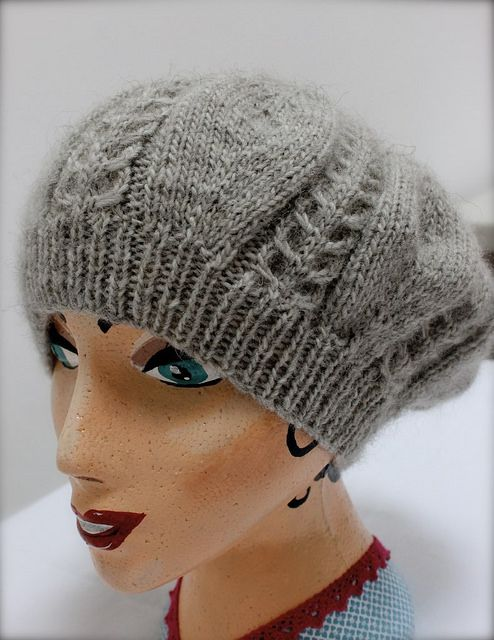 Catherine's Beret in Wendy Ramsdale at www.getknitted.com   Flickr - Photo Sharing!