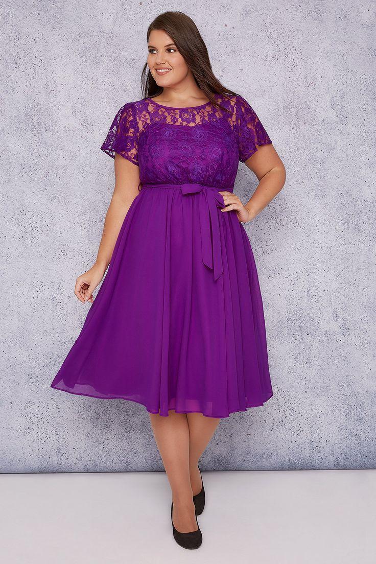 best 25+ purple plus size dresses ideas on pinterest | flattering