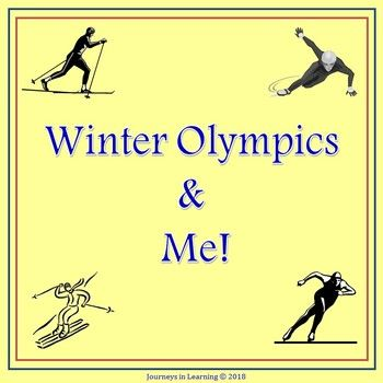 """Get Ready the Winter Olympics are almost here! Included in this resource are many fun activities to get your students excited about the Winter Olympics, February 9-25, 2018. - Quick Fact Sheet - """"Winter Olympic"""" Acrostic - an """"ing"""" Poem - Word Make Sheet - Winter"""