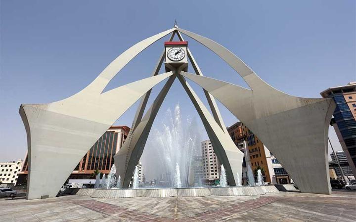Deira Clocktower Originally Referred To As The Dubai Clocktower Is A Roundabout In Dubai United Arab Emirates The Clocktower Clock Tower Tower Design Tower