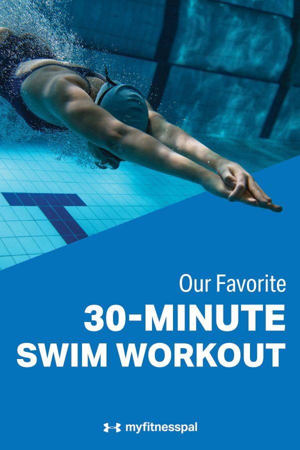 Torch Calories With This Simple 30-Minute Swim Workout
