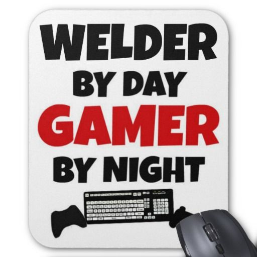 =>>Cheap          Welder by Day Gamer by Night Mouse Pad           Welder by Day Gamer by Night Mouse Pad Yes I can say you are on right site we just collected best shopping store that haveReview          Welder by Day Gamer by Night Mouse Pad please follow the link to see fully reviews...Cleck Hot Deals >>> http://www.zazzle.com/welder_by_day_gamer_by_night_mouse_pad-144749845184293905?rf=238627982471231924&zbar=1&tc=terrest