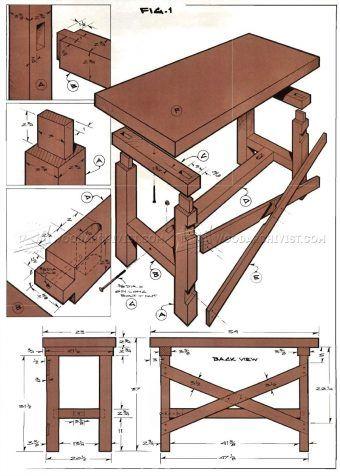 #2644 Simple Workbench Plans - Workshop Solutions