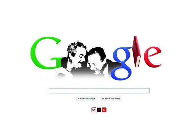 Doodle Google Falcone e Borsellino