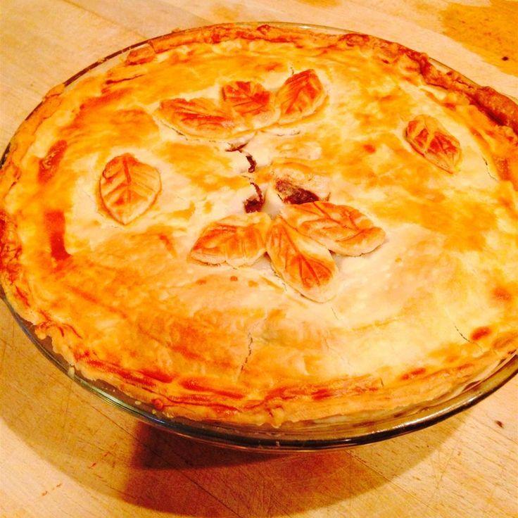 Steak and beer pie with mushrooms | Recipe | Steak, ale ...