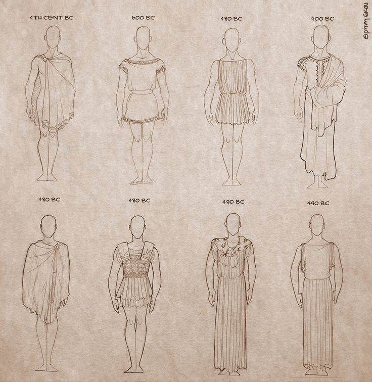 Ancient Greek Clothing for Men by Ninidu on DeviantArt