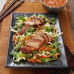Peking Duck With Asian Salad