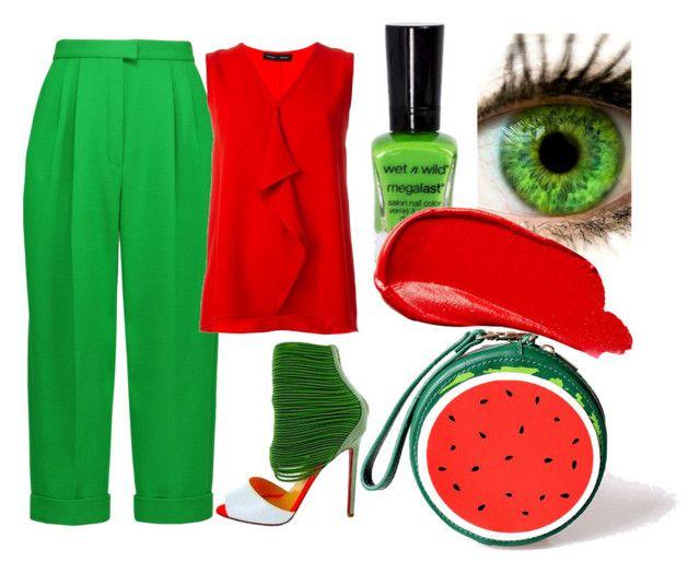 """Цветовой контраст"" by alena-klukva on Polyvore featuring мода, Delpozo, Proenza Schouler, Banned, Oakley и Burberry"