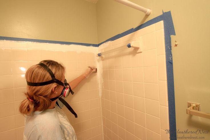 Painting Bathtub Tiles