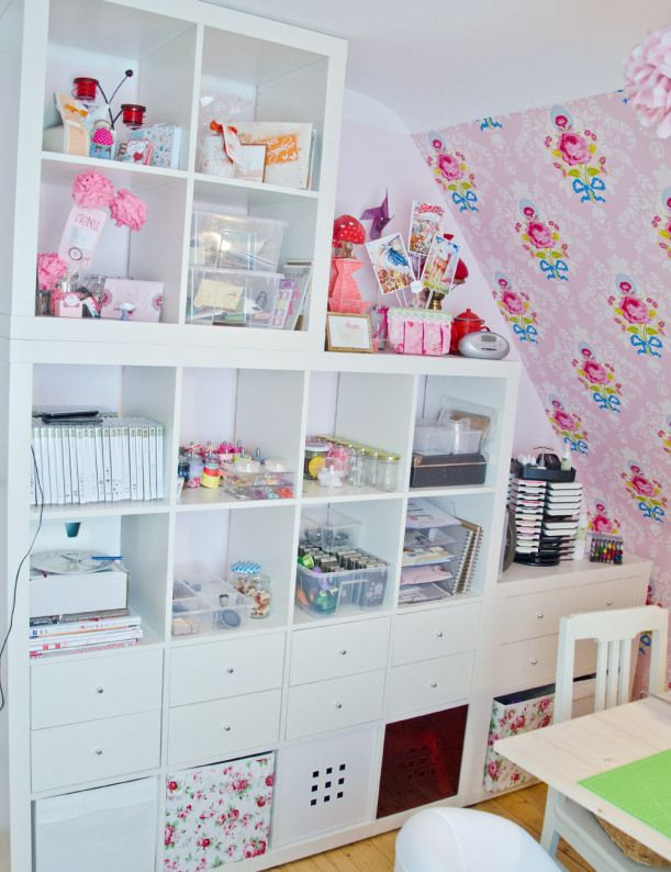 bastelzimmer von wertsch tzt for my craftroom pinterest. Black Bedroom Furniture Sets. Home Design Ideas