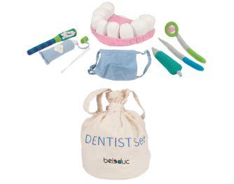 Stoffen speelgoed tandarts set van Beleduc | Marjo Speelgoed