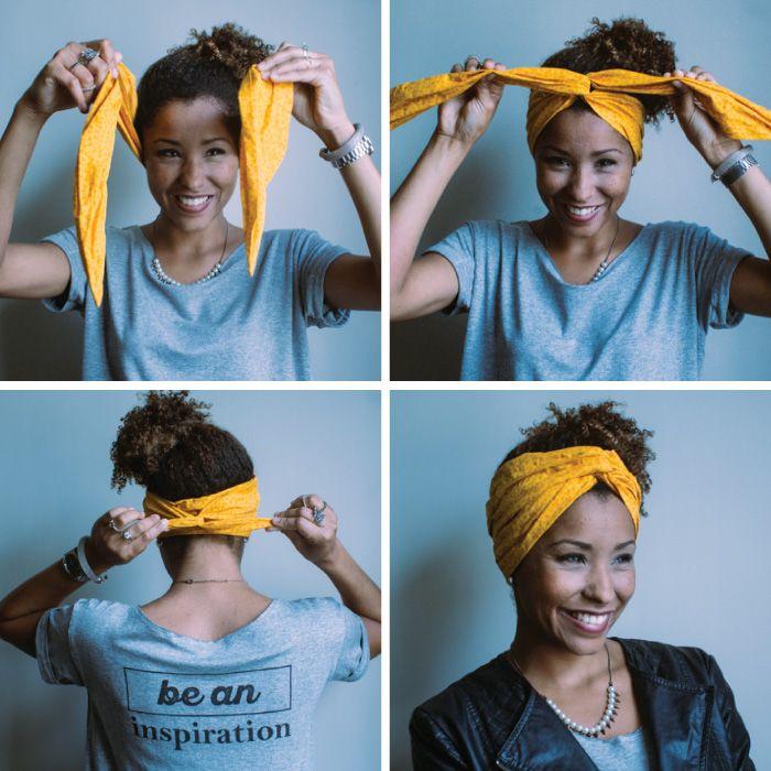 Esse e mais outros tutorias incríveis para você arrasar com lenço no cabelo! Vem descobrir como o turbante ganhou a cabeça das mulheres ao redor do mundo!