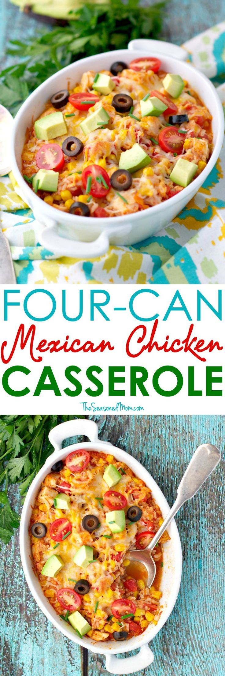 4 Can Mexican Chicken Casserole Recipe Mexican Chicken Casserole Easy Dinners And Easy