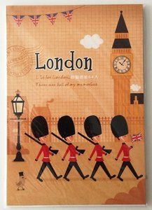 London UK Letter Paper Pad (Guard)  - available at www.stationeryheaven.nl