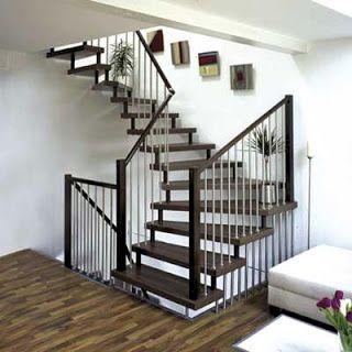 Home Decoration Design: Wooden Staircase Design | Elegant Interior Design