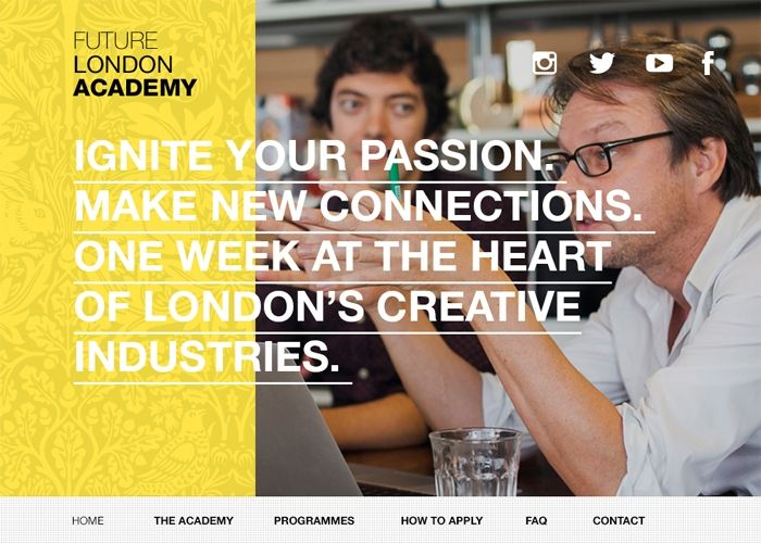 Future London Academy | CSS Website