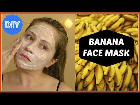 BANANA FACE MASK | INSTANT FACE LIFTING - YouTube