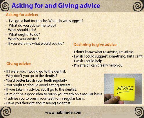 Forum | ________ English Grammar | Fluent LandAsking and Giving Advice | Fluent Land