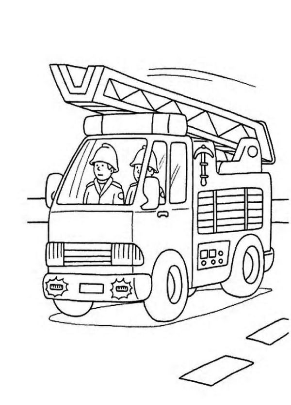 28 best Kids: firefighter coloring pages images on ...