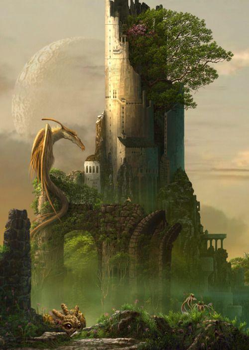 Dragons:  #Dragon #Tower.
