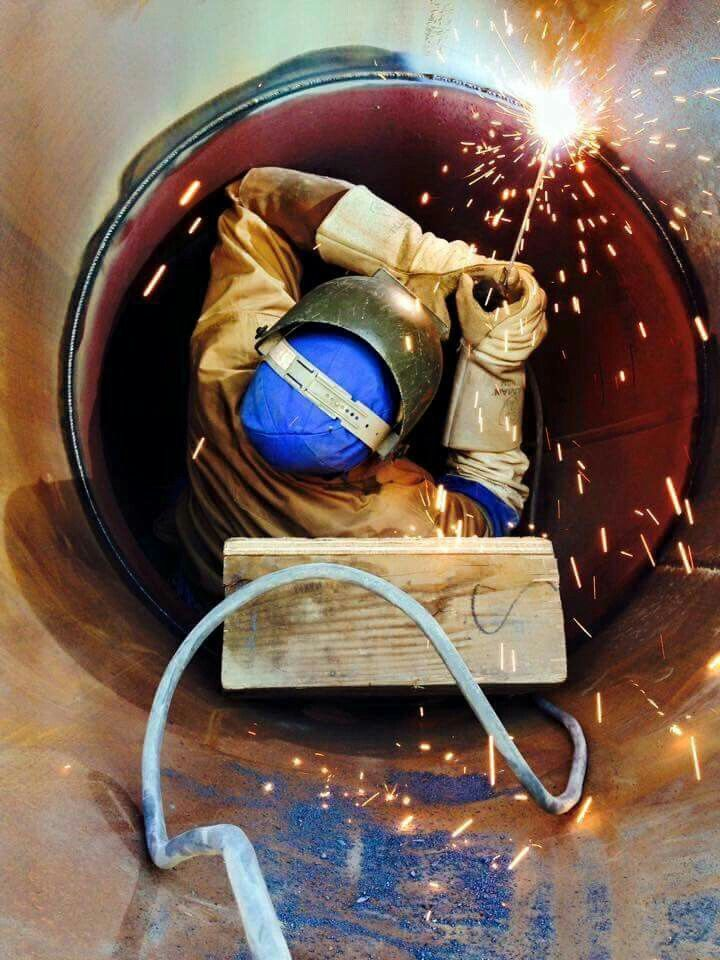 Working in confined spaces. | Welding is a lifestyle ...