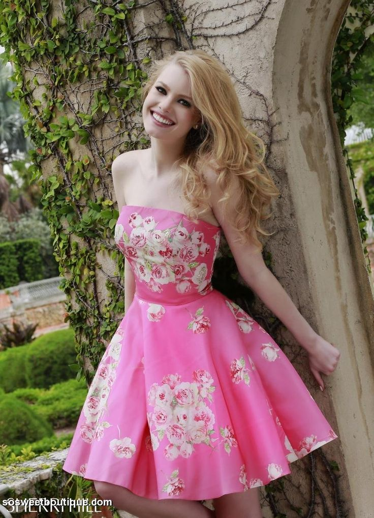 Mejores 65 imágenes de Pretty In Pink en Pinterest | Vestidos de ...