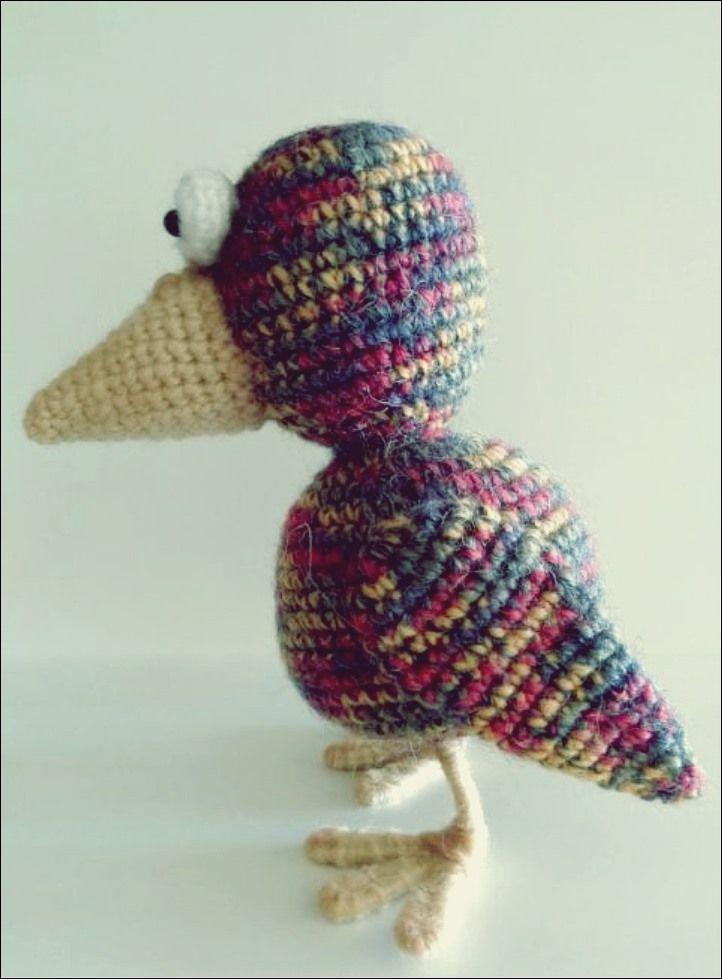 Amigurumi - kleine Vögel häkeln