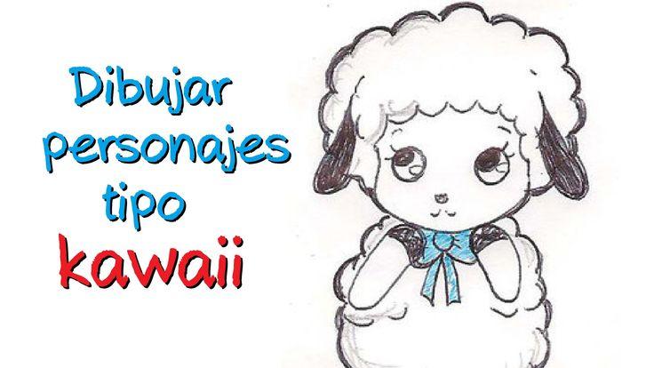 Como dibujar personajes kawaii