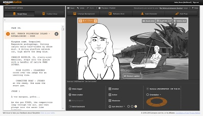 #LaunchedNow: Amazon Studios launches Storyteller: A new automated storyboard generator