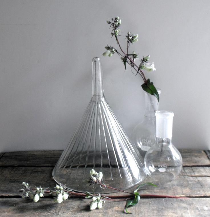 Vintage Lab Glass